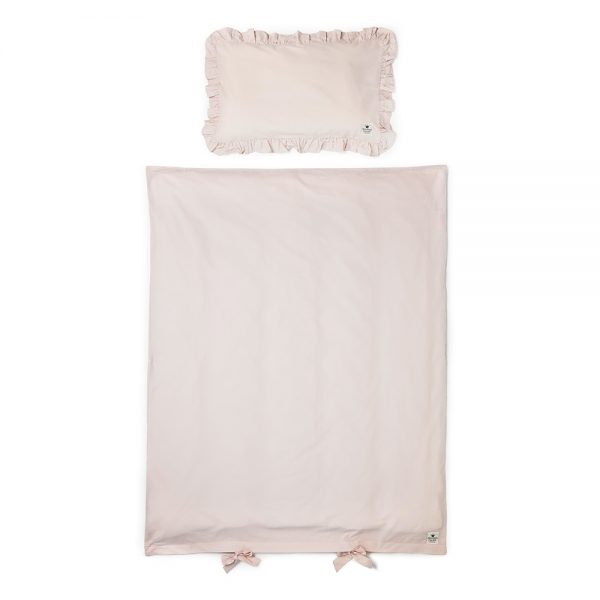 Elodie Details Crib Bedding Set - Powder Pink